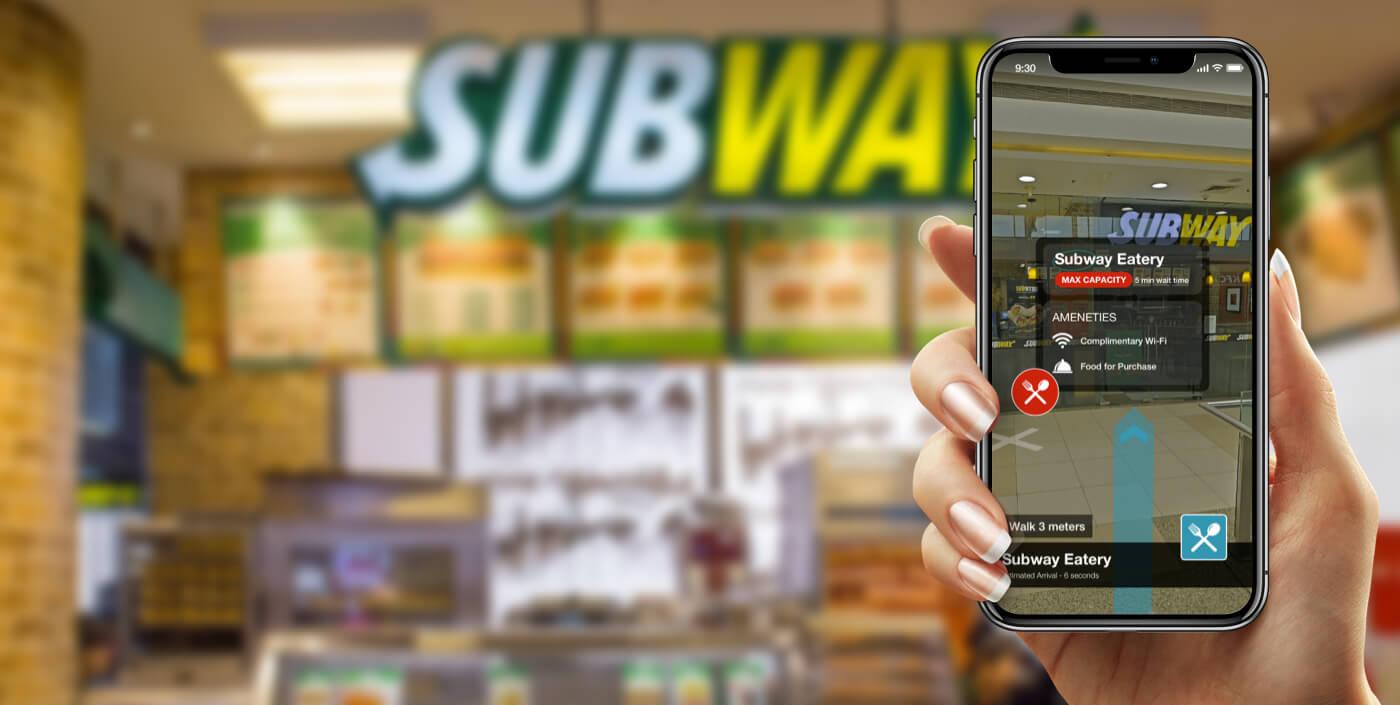 Augmented reality wayfinding