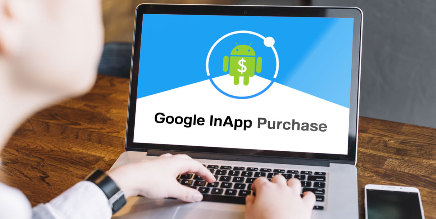 Google in app purchase in android app