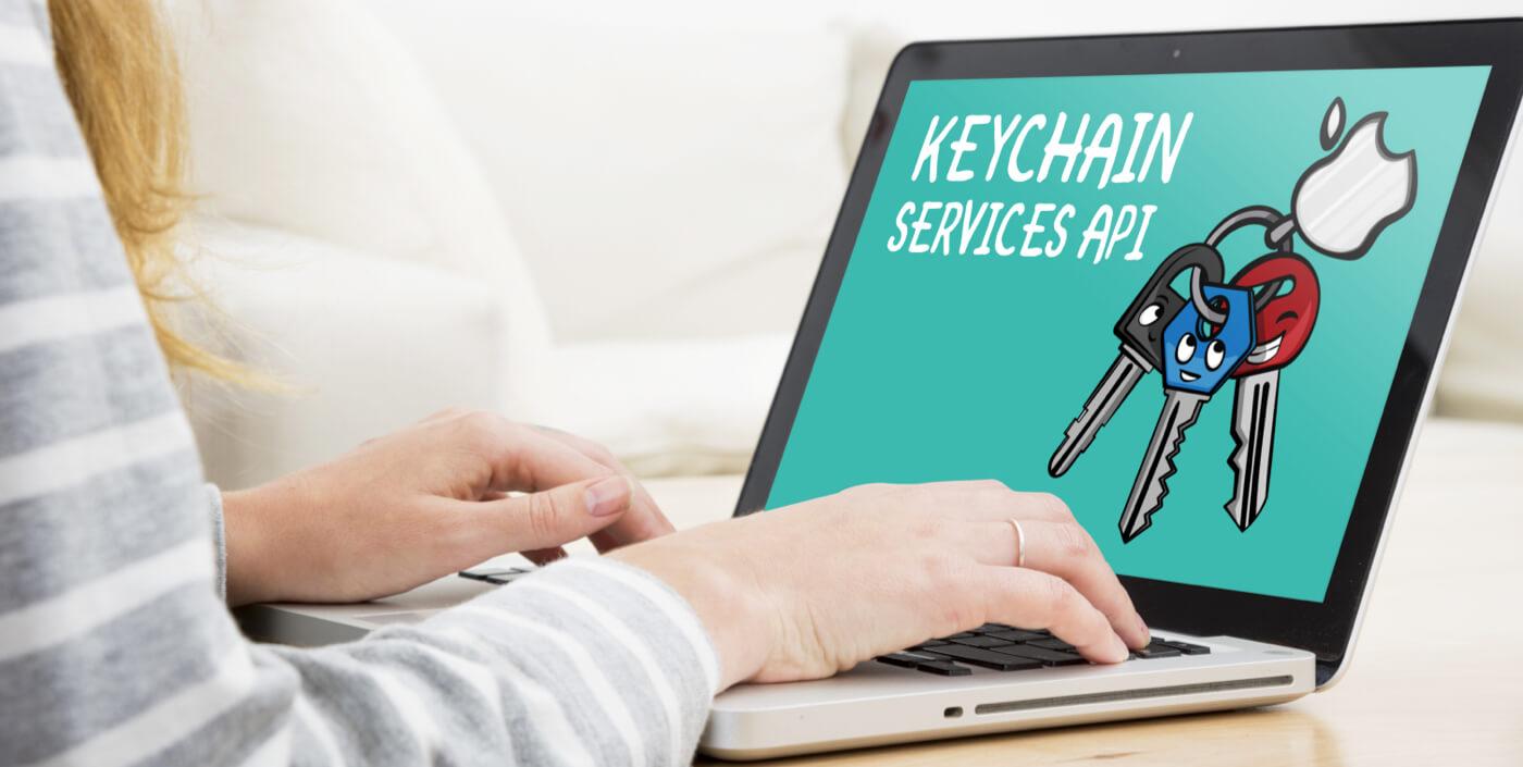 Store sensitive data using KeyChain
